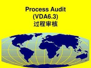 VDA6.3 Process Audit
